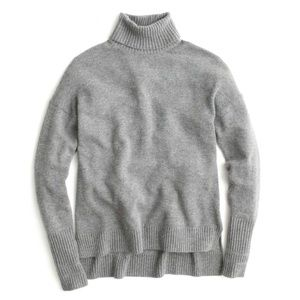 J. Crew Relaxed Wool Turtleneck Sweater